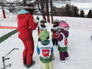 Ski-ing with little ones…